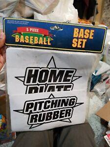 Baseball Base Set - 5 Pieces