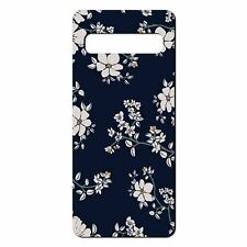 For Samsung Galaxy S10 PLUS Silicone Case Flower Floral Pattern - S5281