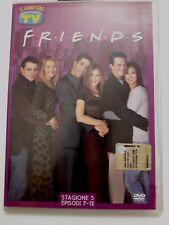 DVD Film Friends Le grandi serie Tv Sorrisi e Canzoni Stagione 5 Episodi 7-12
