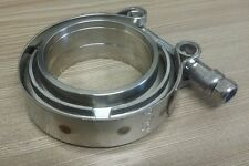 2-1/4 2.25 inch Vband V-band Clamp + Collars exhaust joiner stainless steel 57mm