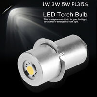 P13.5S 1/3/5W 3/4.5/6/9V LED Flashlight Replacement Bulb Torch Lamp Work Light H