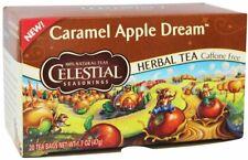 Caramel Apple Dream Tea by Celestial Seasonings, 20 tea bag 6 pack