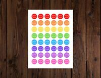 48 Battery Icon Planner Stickers for Any Planner Calendar Erin Condren Happy