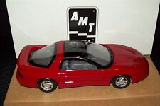 AMT ERTL 1993 PONTIAC FIREBIRD BRIGHT RED 1/25 SCALE PLASTIC PROMO 6601