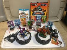 Skylanders Giants Wii U Lot Stategy Guide 13 Figs 2 Bases Video Game