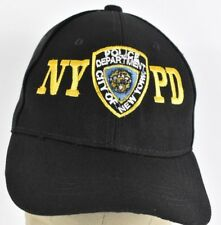 Black NYPD New York Police Department Embroidered Baseball hat cap Adjustable