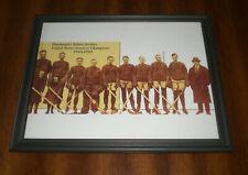 1923-24 Pittsburgh Yellow Jackets Hockey Champions Team Framed Print