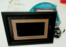 "Omnitech 8.5"" Digital Photo Frame US Plug"