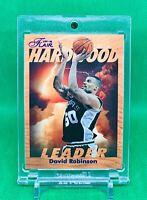 David Robinson 1997-98 Flair Basketball Hardwood Insert #24/29 Rare Spurs NBA