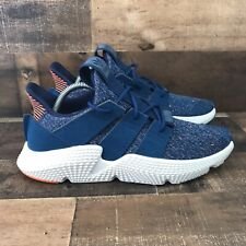 Adidas Prophere Men's Sneakers Size 9 Blue Night Hi Resolution Orange
