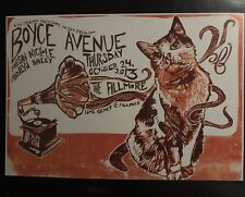 Boyce Avenue The Fillmore Poster Near Mint Condition F1233 2013