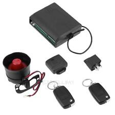 Universal Car Security Alarm System With Flip Key Remote Control Door Lock