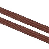 10 m Ripsband 10mm Webband Borte Zierband Nähen Dekoband Scrapbooking Braun C244
