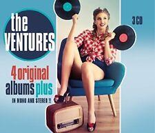 The Ventures - 4 Original Albums Plus [New CD] Holland - Import