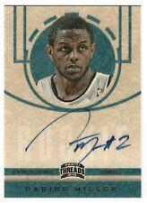 Darius Miller 2012-13 Panini Threads  AU RC Card# 246