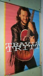 TRAVIS TRITT Country Vintage 1992 Poster  LAST ONE