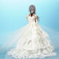Anime Q-Six Akeiro Kaikitan Velvet Long Hair Wedding dress PVC Figure New No Box