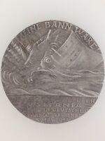 Germany/German WWI Goetz Lusitania medallion British Propaganda Copy