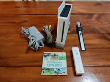 Nintendo Wii Sports Console Bundle RVL-001 - Game Cube Compatible - Tested
