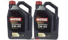 Aceite Motor Motul 8100 PERFORMANCE 5W40, 10 litros  100% sintetico