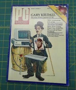 PC Magazine Volume 1 Number 3 IBM, CP/M-86 June/July 1982