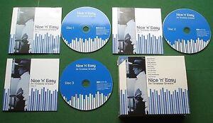 Nice n Easy 54 Classics Bobby Vinton Lena Horne Louis Prima Johnny Mathis 3 x CD
