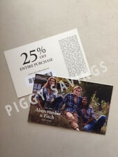 Abercrombie COUPON CODE 25% OFF $75 - Sale clearance