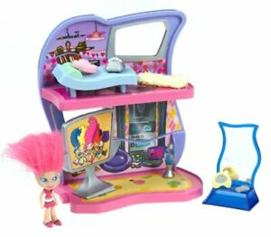 Trollz Pad Media Lounge - Trolls doll & furniture included