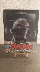 Avengers: Age Of Ultron / Steelbook lenticulaire Zavvi Blu-ray
