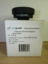 Novagrade Digiscoping T-Mount Universal Adapter UA-00T1-01 Compression Ring Set