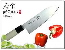 "Japanese Santoku Design Vegetable Cleaver Knife 6.5"" Thickness 1.5mm Cutlery"