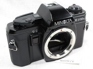 MINOLTA X370n/X 370 CAMERA BODY FOR PRTS