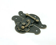 Antique Vintage Decorative Latch Jewelry Box Hasp Pad Lock Chest Lock - LK001
