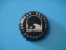 BEER Bottle Cap ~*~ ALASKAN Brewing Company Black ~ Juneau, ALASKA Micro Brewery