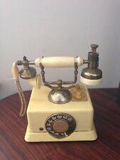 1960s 6 Transistor AM Radio And Lighter Combo Telephone Shape Lighter Works