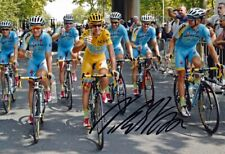 Vincenzo Nibali Signed 8X12 inches 2014 Tour De France Photo - Photo Proof