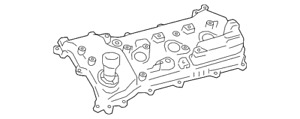 Genuine Toyota Valve Cover 11202-0P012