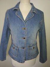 veste blouson jeans doublé T.40 ou 170 Marque Here+there coloris délavé TBE