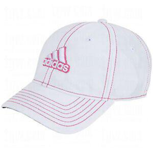Adidas Women's Princess 2.0 Hat, OSFM,  White/Hibiscus Pink
