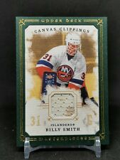 2008-09 UD Masterpieces Canvas Clippings Green #CCBS Billy Smith 16/85