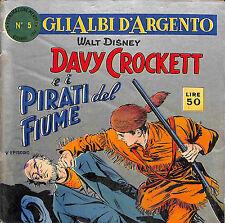 [013] GLI ALBI D'ARGENTO ed. Mondadori 1957 n.  5 stato Buono
