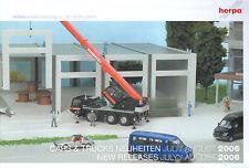 Herpa Cars & Trucks Neuheiten Juli / August´2006-Modellbau-Binz-Scania-Volvo-neu