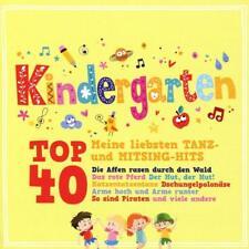 KINDERGARTEN TOP 40 - MEINE LIEBSTEN TANZ- UND MITSIND-HITS  2 CD NEU