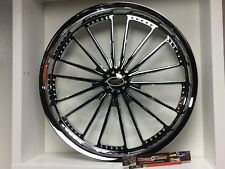 "09 up Harley Davidson 26"" front Wheel Custom Chrome Wheel Style 114c"