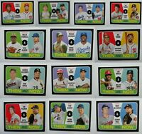 2020 Topps Heritage Then and Now Baseball Card Complete Your Set You U Pick List