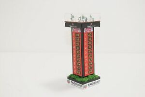 Ho Slot Car Scenery 6 inch tall F-1 TAG HEUER  JUDGES TOWER with LEADERBOARDS