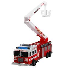 "Friction Power Fire Truck 17"" Firefighter Rescue Engine Toy"
