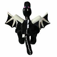 "Mojang Jinx Minecraft Black Ender Dragon 24"" Large Big Plush stuffed wings"