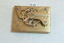 English Smiths ABEC Clock Platform Escapement Working 31x23  Mantel Mantle Clock
