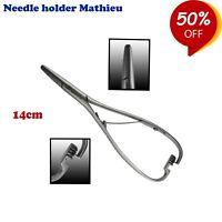 Kieferorthopädie Nadelhalter Mathieu 14cm